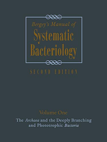 9781441931597: Bergey's Manual of Systematic Bacteriology: Volume One : The Archaea and the Deeply Branching and Phototrophic Bacteria