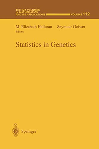 9781441931702: Statistics in Genetics (The IMA Volumes in Mathematics and its Applications)