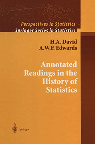 9781441931740: Annotated Readings in the History of Statistics (Springer Series in Statistics)