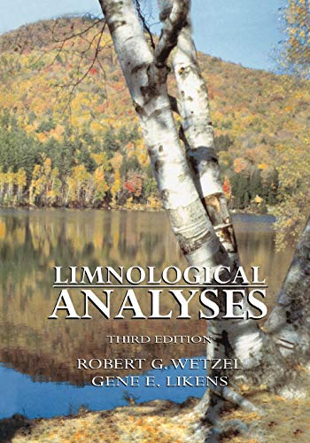 9781441931863: Limnological Analyses