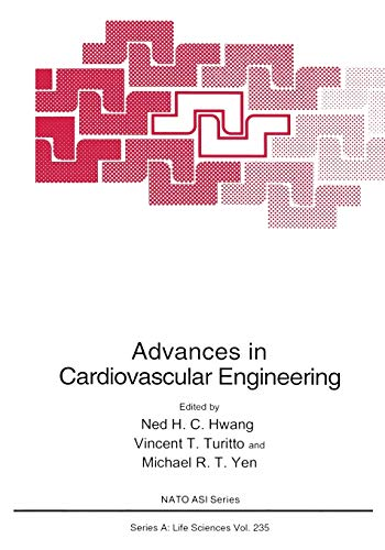 9781441932280: Advances in Cardiovascular Engineering (Nato Science Series A:)