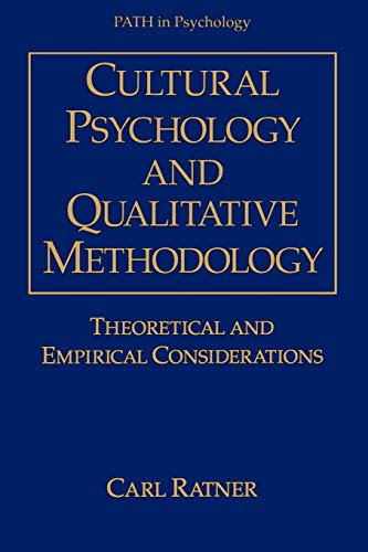 9781441932617: Cultural Psychology and Qualitative Methodology: Theoretical and Empirical Considerations (Path in Psychology)