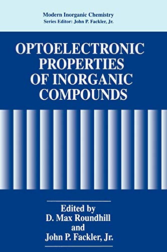 Optoelectronic Properties of Inorganic Compounds (Modern Inorganic Chemistry): Springer