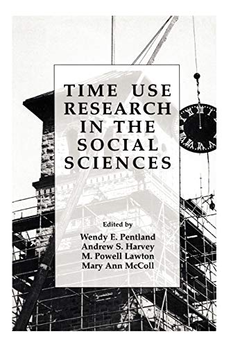 9781441933027: Time Use Research in the Social Sciences
