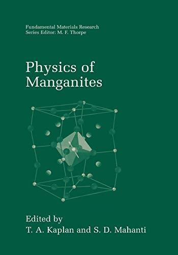Physics of Manganites Fundamental Materials Research