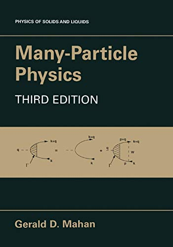 9781441933393: Many-Particle Physics (Physics of Solids and Liquids)