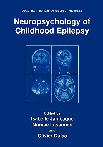 Neuropsychology of Childhood Epilepsy: Isabelle Jambaque