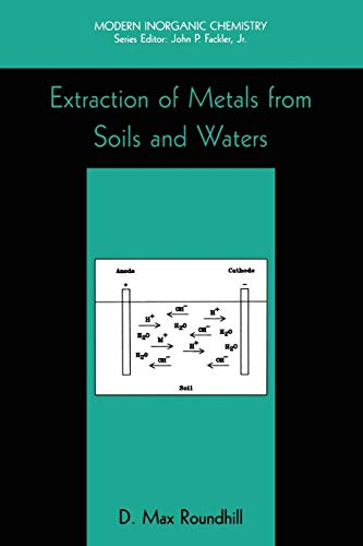 9781441933782: Extraction of Metals from Soils and Waters (Modern Inorganic Chemistry)
