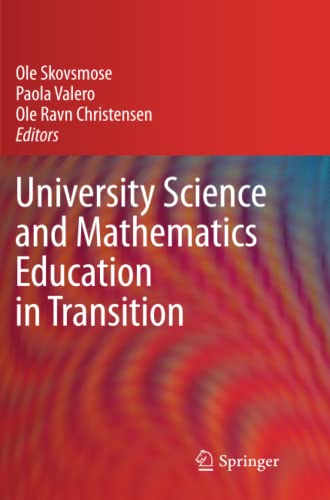 University Science and Mathematics Education in Transition: Ole Skovsmose (Editor),