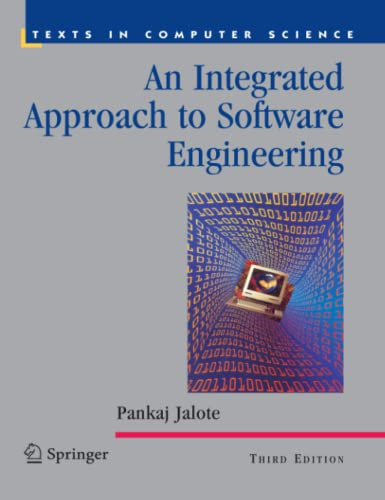 An Integrated Approach to Software Engineering (Paperback) - Pankaj Jalote