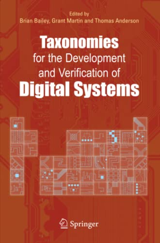 9781441936813: Taxonomies for the Development and Verification of Digital Systems