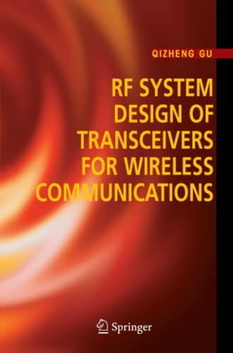 9781441936981: RF System Design of Transceivers for Wireless Communications