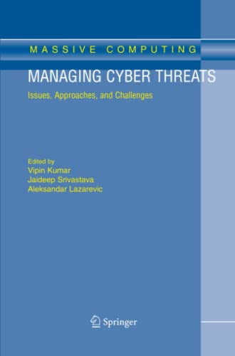 9781441937056: Managing Cyber Threats: Issues, Approaches, and Challenges (Massive Computing)
