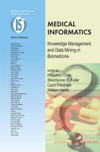 9781441937353: Medical Informatics: Knowledge Management and Data Mining in Biomedicine (Integrated Series in Information Systems)