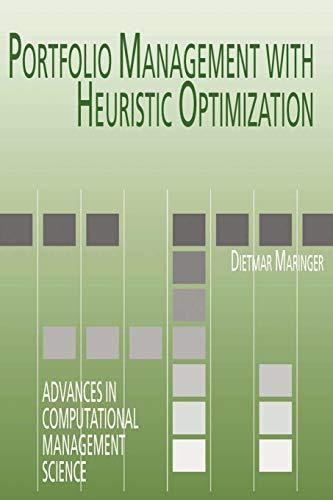 9781441938428: Portfolio Management with Heuristic Optimization (Advances in Computational Management Science)
