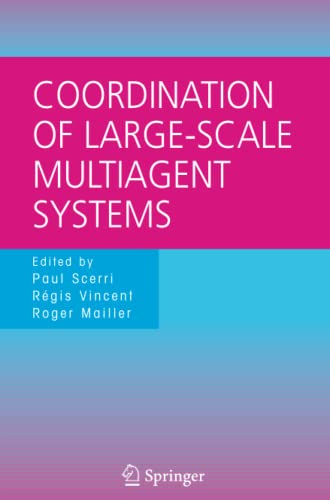 9781441938725: Coordination of Large-Scale Multiagent Systems