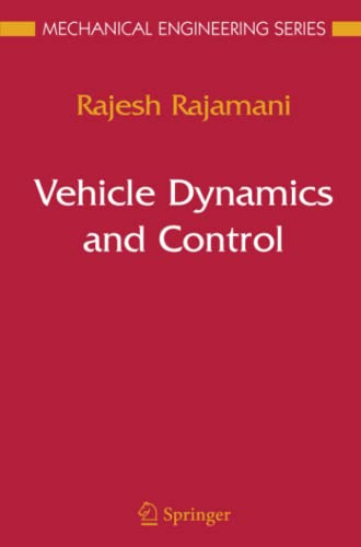 9781441938893: Vehicle Dynamics and Control (Mechanical Engineering Series)