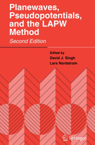 9781441939548: Planewaves, Pseudopotentials, and the LAPW Method