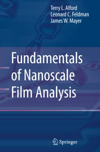 9781441939807: Fundamentals of  Nanoscale Film Analysis