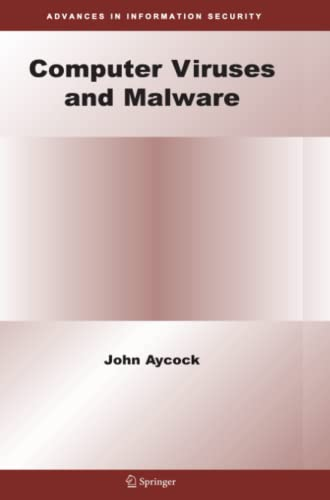 9781441940162: Computer Viruses and Malware (Advances in Information Security)