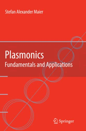 9781441941138: Plasmonics: Fundamentals and Applications