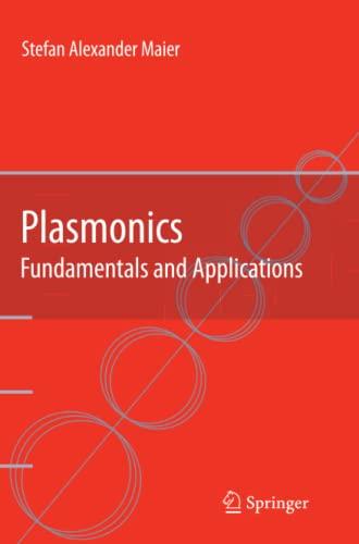 9781441941138: Plasmonics: Fundamentals and Applications