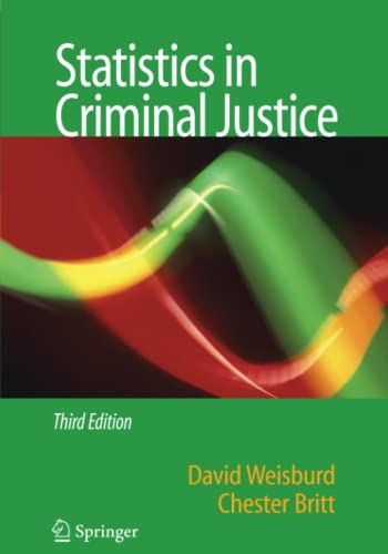 9781441941626: Statistics in Criminal Justice Third Edition