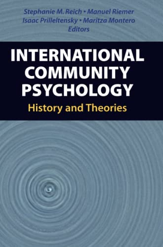9781441943187: International Community Psychology: History and Theories