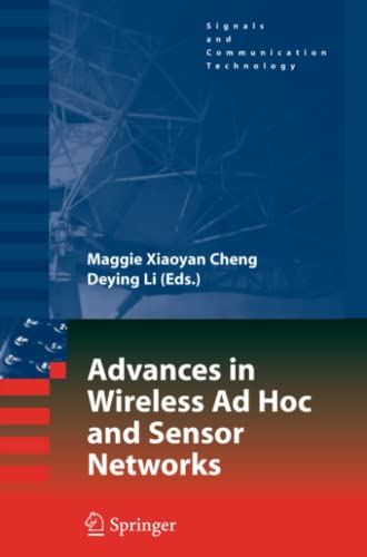 9781441943286: Advances in Wireless Ad Hoc and Sensor Networks (Signals and Communication Technology)