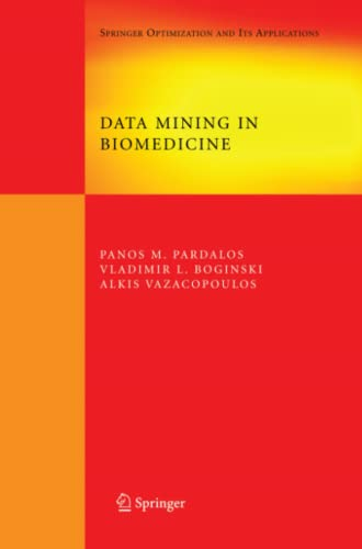 9781441943439: Data Mining in Biomedicine (Springer Optimization and Its Applications)