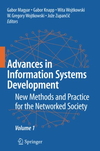 9781441943583: Advances in Information Systems Development: New Methods and Practice for the Networked Society Volume 1