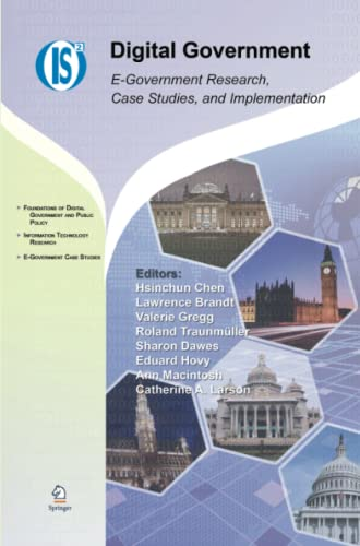 9781441944016: Digital Government: E-Government Research, Case Studies, and Implementation (Integrated Series in Information Systems)