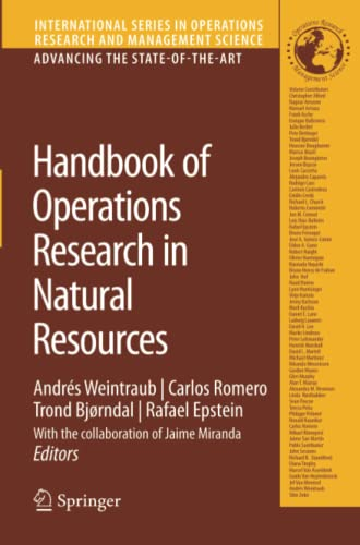 9781441944160: Handbook of Operations Research in Natural Resources (International Series in Operations Research & Management Science)