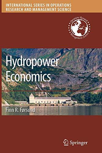 Hydropower Economics: Finn R. Forsund