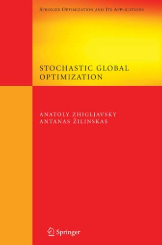 9781441944856: Stochastic Global Optimization (Springer Optimization and Its Applications)