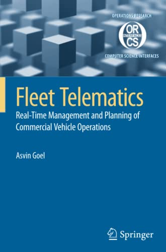 9781441945242: Fleet Telematics: Real-time management and planning of commercial vehicle operations (Operations Research/Computer Science Interfaces Series)