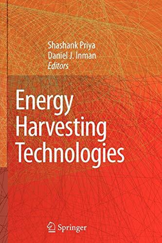 9781441945525: Energy Harvesting Technologies