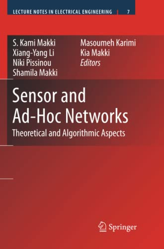 9781441945884: Sensor and Ad-Hoc Networks: Theoretical and Algorithmic Aspects (Lecture Notes in Electrical Engineering)