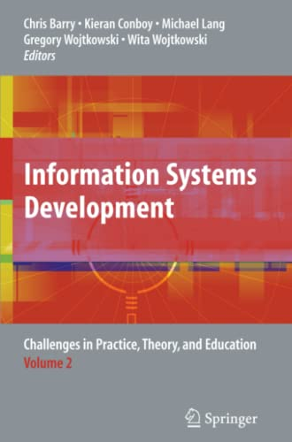 9781441946171: Information Systems Development: Challenges in Practice, Theory, and Education Volume 2