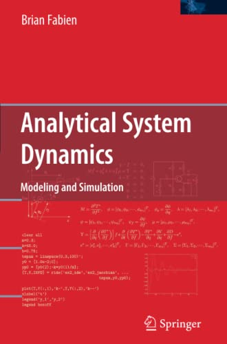 9781441946706: Analytical System Dynamics: Modeling and Simulation