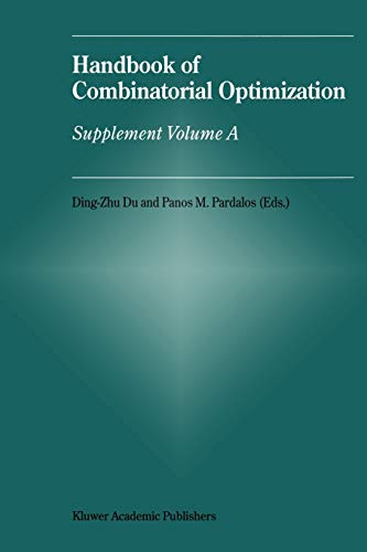 9781441948137: Handbook of Combinatorial Optimization: Supplement Volume a