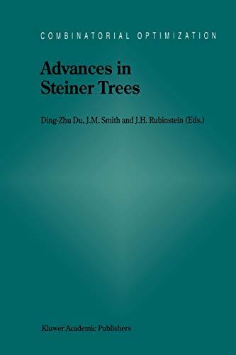9781441948243: Advances in Steiner Trees (Combinatorial Optimization)