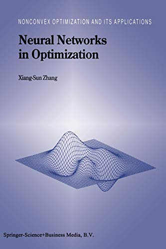 9781441948366: Neural Networks in Optimization (Nonconvex Optimization and Its Applications)