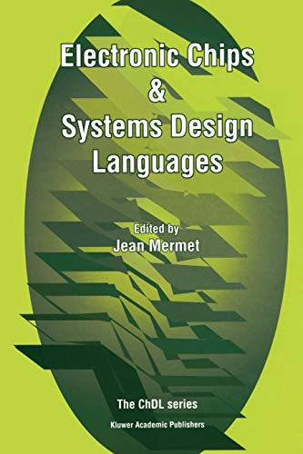 Electronic Chips & Systems Design Languages (Chdl): Springer