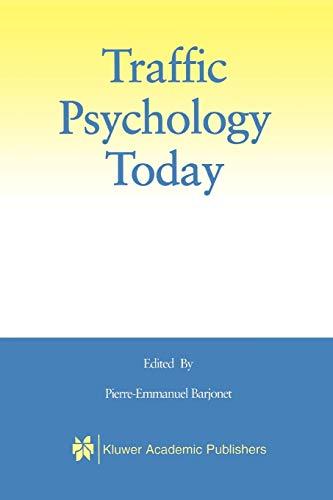 Traffic Psychology Today: Springer