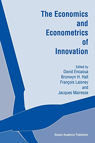 9781441949714: The Economics and Econometrics of Innovation