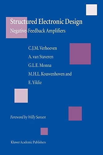 9781441953926: Structured Electronic Design: Negative-feedback amplifiers