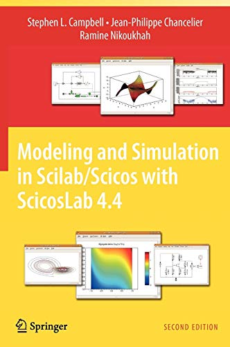 9781441955265: Modeling and Simulation in Scilab/Scicos with ScicosLab 4.4