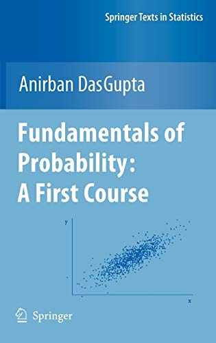 9781441957795: Fundamentals of Probability: A First Course (Springer Texts in Statistics)