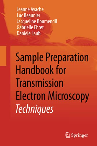 9781441959744: Sample Preparation Handbook for Transmission Electron Microscopy: Techniques
